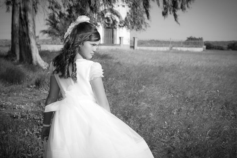 Comunión Carolina por el fotógrafo profesional Vicente Alfonso
