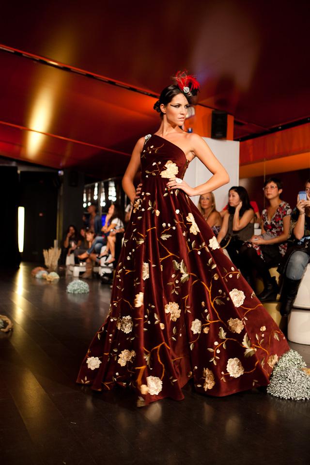 Desfile de moda de la diseñadora Ángeles castro por el fotógrafo profesional Vicente Alfonso