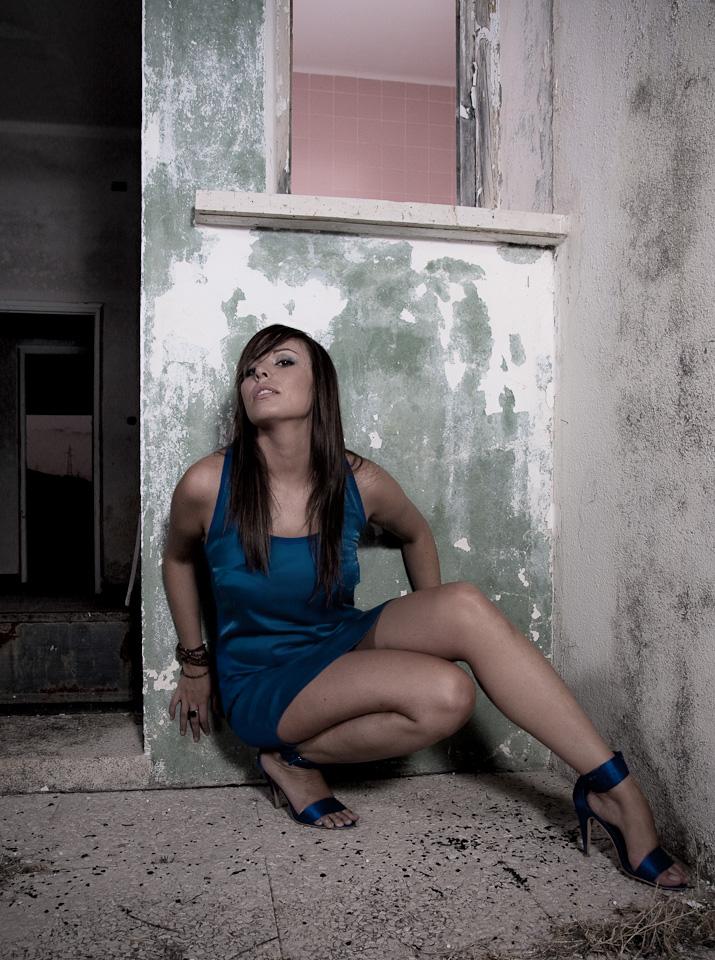 Moda con María García dela Calle por el fotógrafo profesional Vicente Alfonso