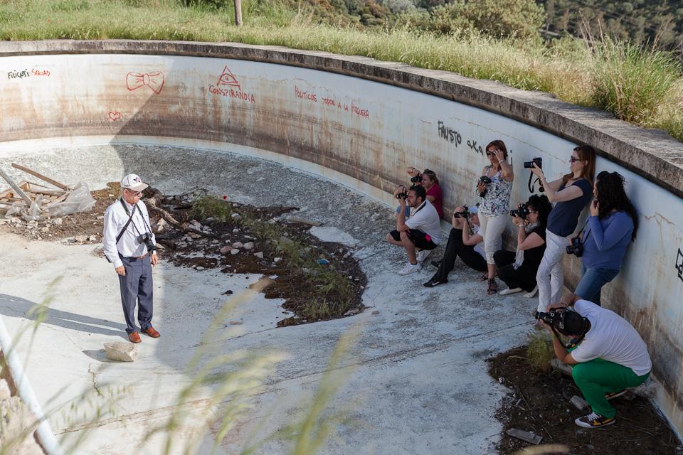 Curso Iniciación a la fotografía ARJABOR por el fotógrafo profesional Vicente Alfonso en Navalmoral de la Mata Cáceres