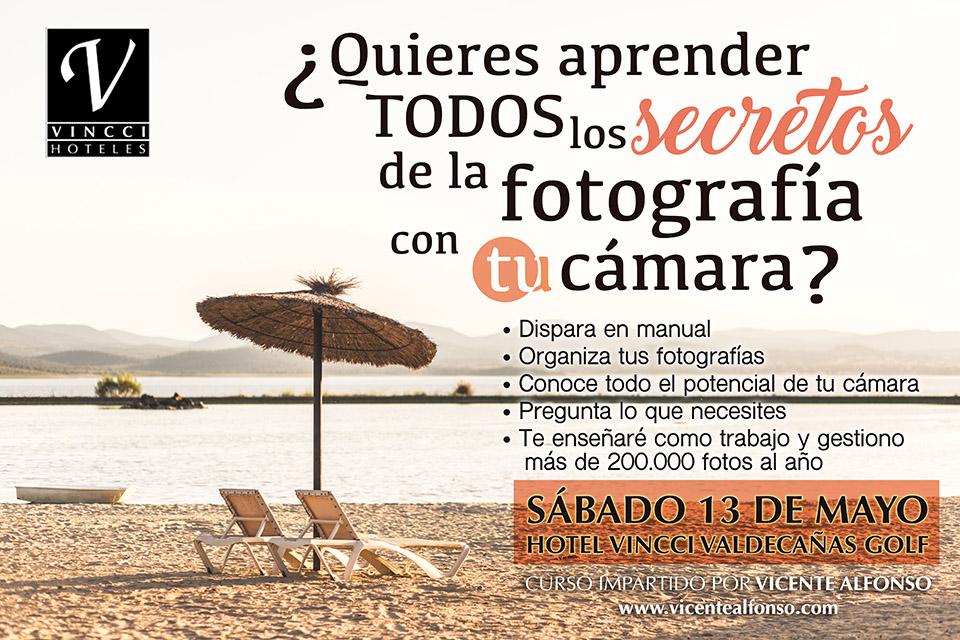 Curso Fotografía, Aprende manual, Maneja tu Cámara, Hotel Vincci Valdecañas Golf, Curso fotografía iniciación