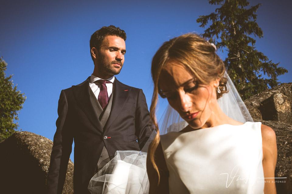Retratos novio y novia en torreón