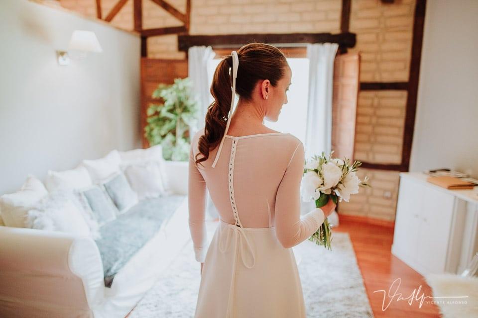 Detalle espalda vestido Sophie et Voilá