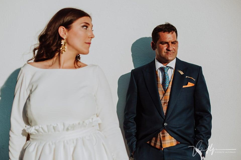 Reportaje de boda natural entre Alba y Jose