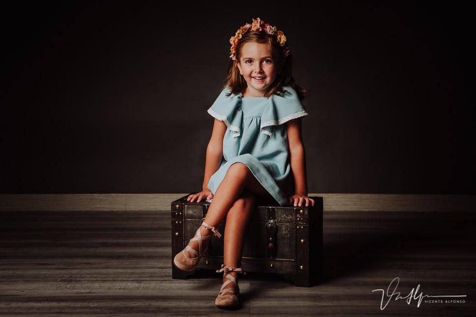 Reportaje de fotografía niñas en Navalmoral