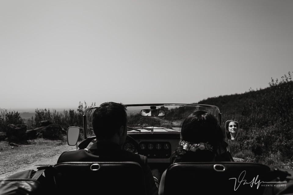 Reportaje de fotos de boda en las montañas del Raso