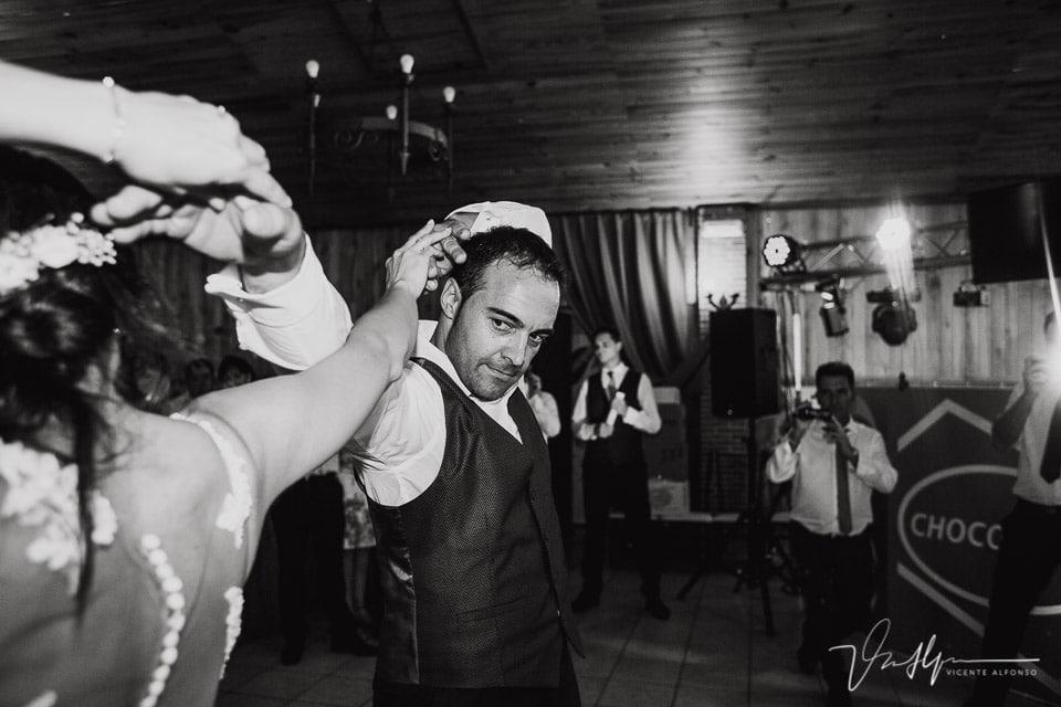 Baile de Boda en el Mirador de Gredos en el Raso con Chocolove