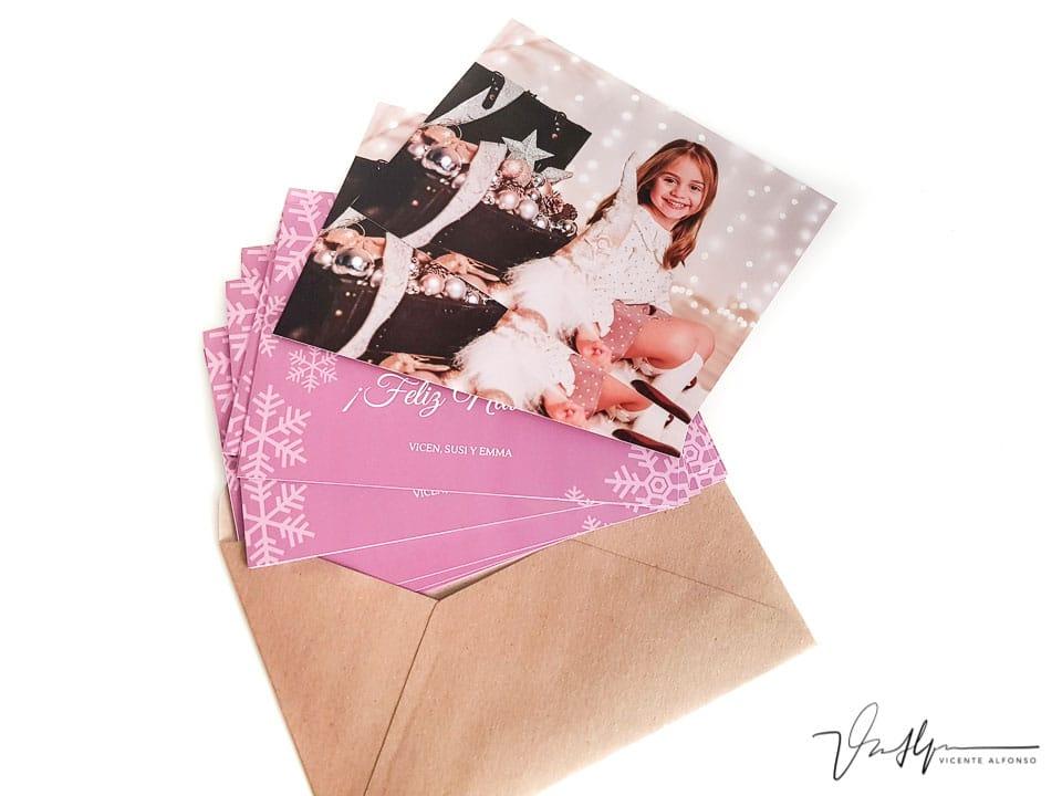 Estudio de fotografía tarjetas de felicitación