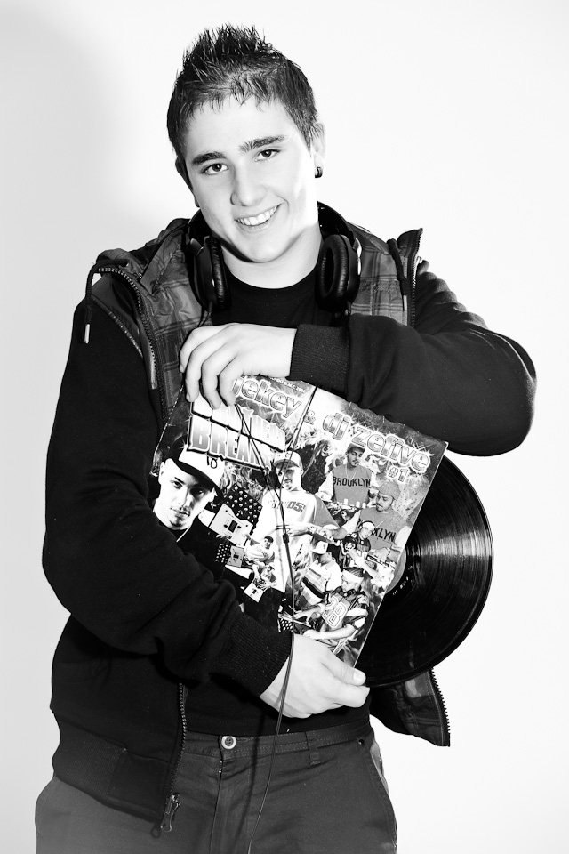 Reportaje a DJ Lhady por el fotógrafo profesional Vicente Alfonso