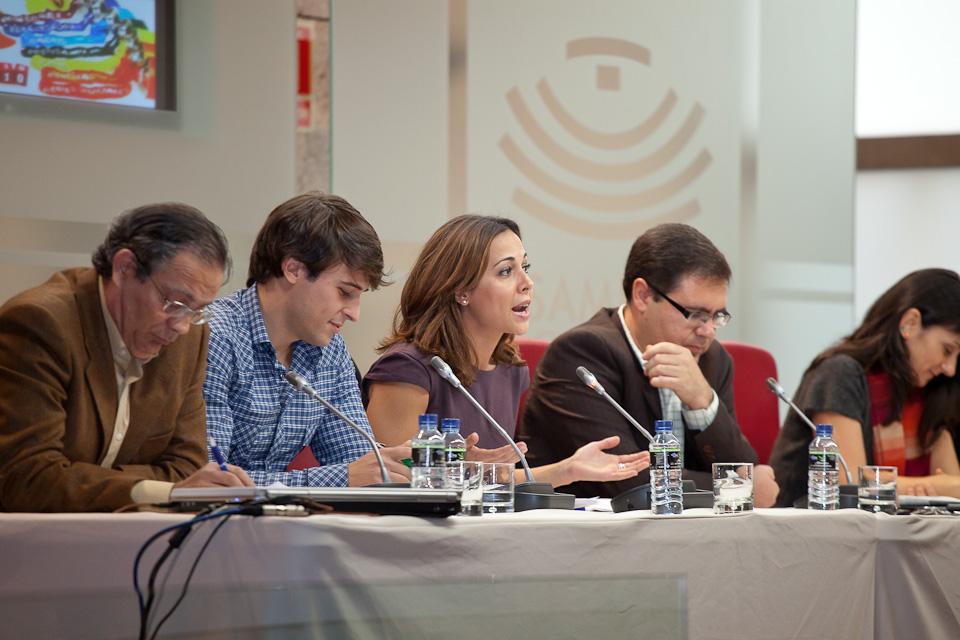 Princesa doña letizia en el I Congreso Internacional de Medios de Comunicación en el Aula 2.0 por el fotógrafo profesional Vicente Alfonso