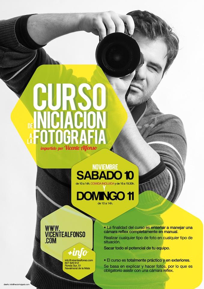 Curso de fotografía impartido por el fotógrafo Vicente Alfonso Cáceres