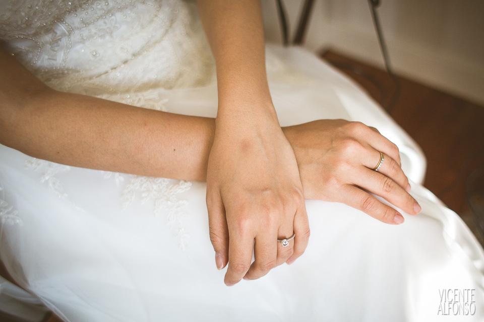 Detalle manos novia Vietnamita