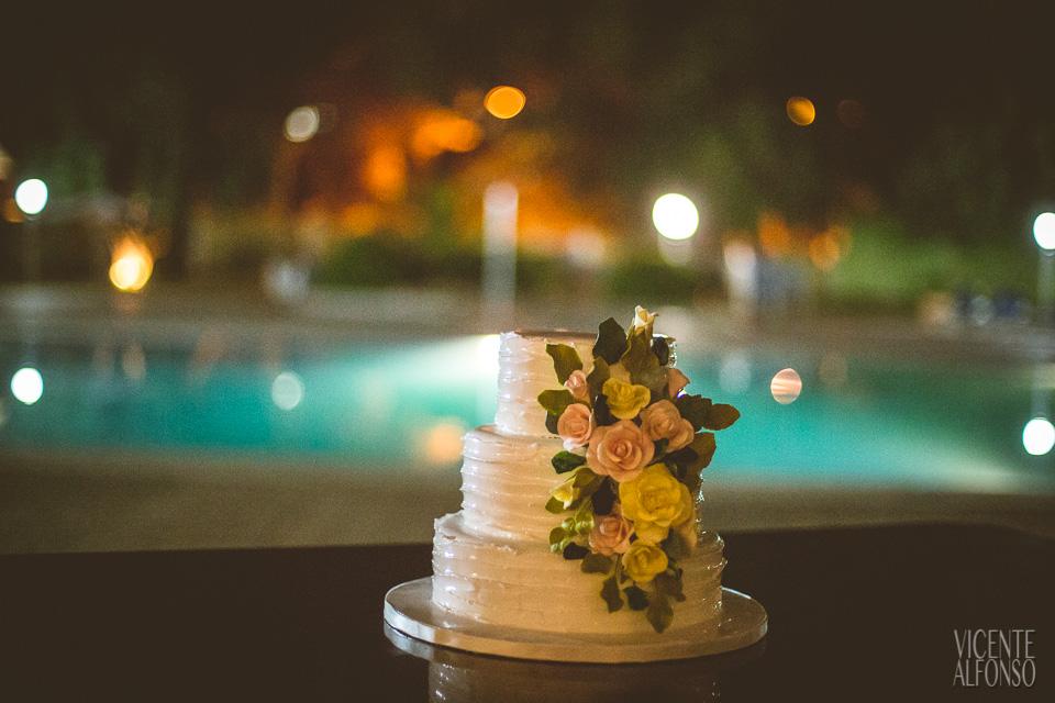 Tarta nupcial muy especial en la boda Noruega