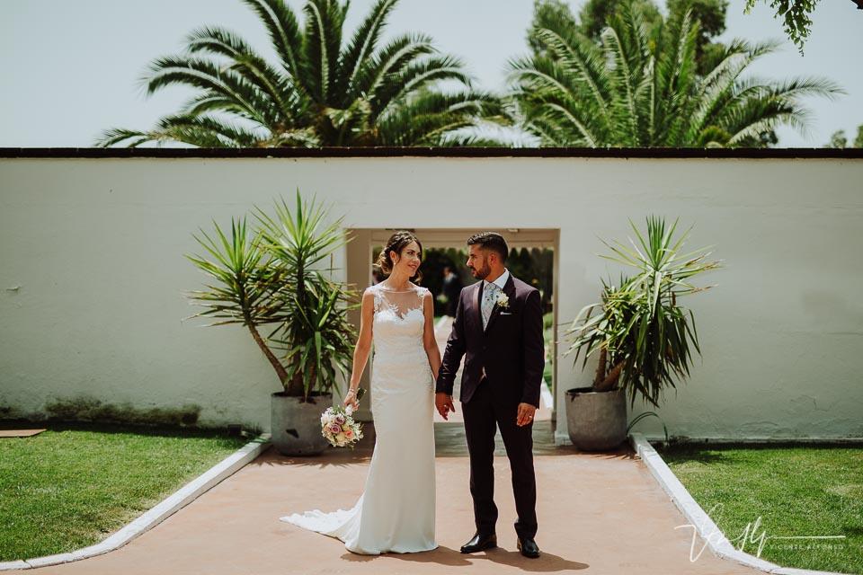 Reportaje de boda de los novios en Madrid