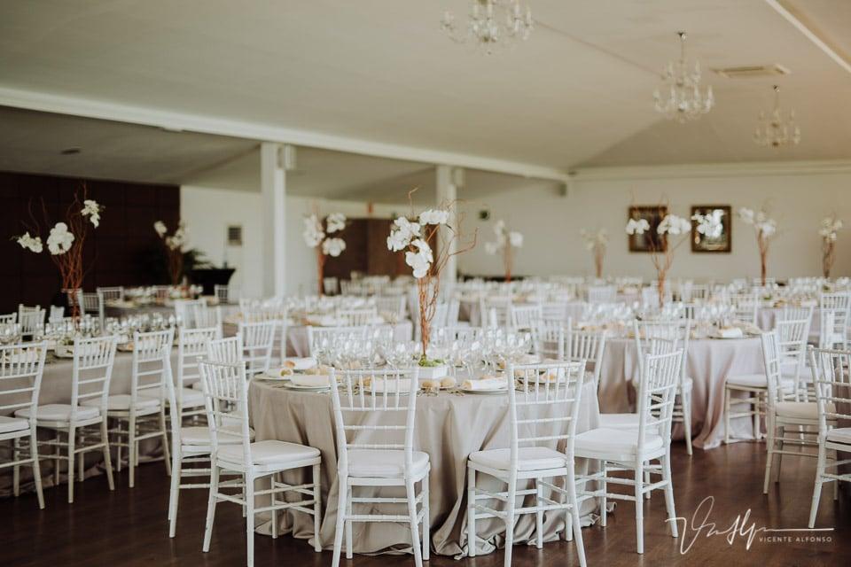 Detalle banquete inbodas en Finca de Cubas de la Sagra