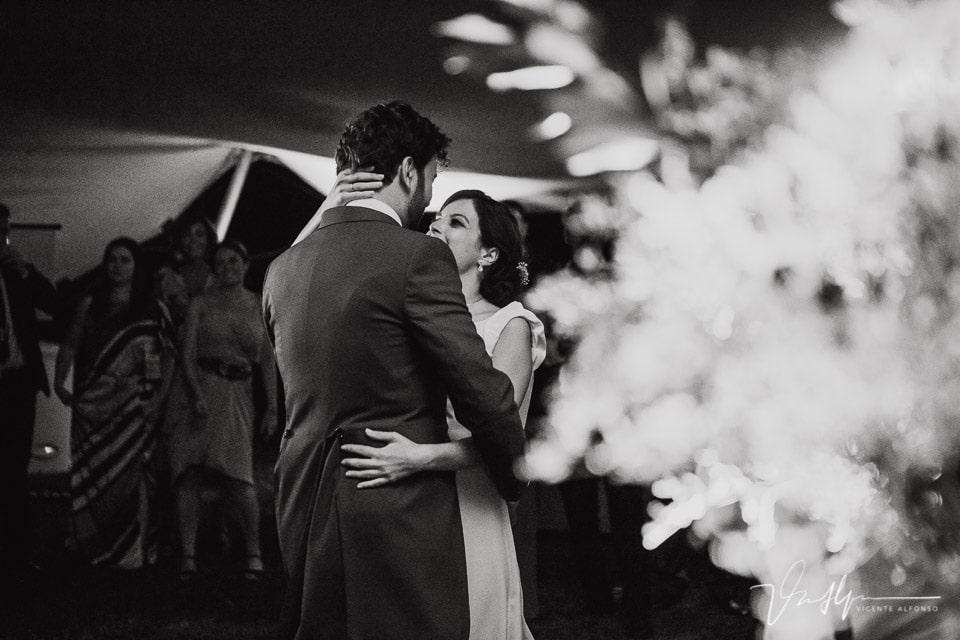 Baile de los novios en la Quinta de la Cerca
