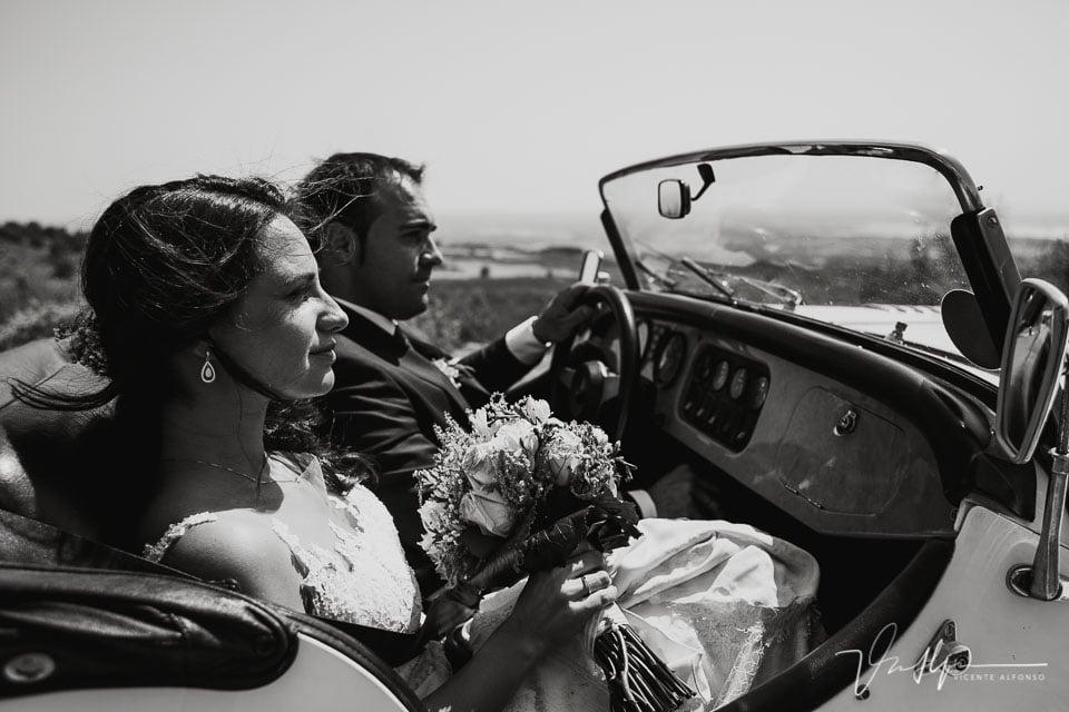 Reportaje de boda en el Raso en un Morgan