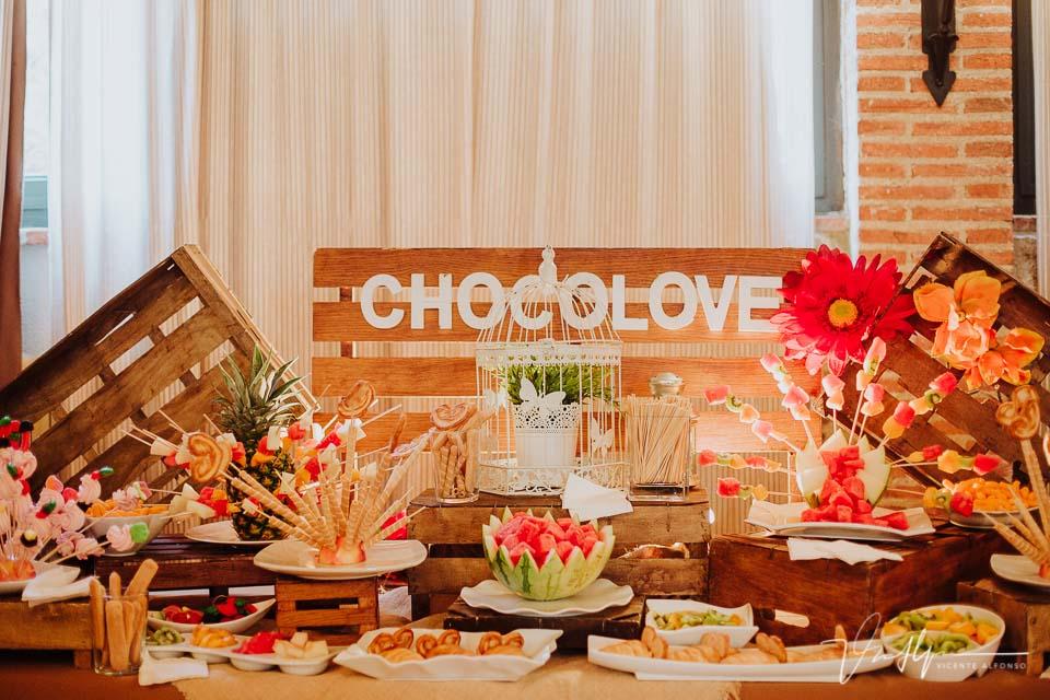Detalles de boda de la empresa Chocolove