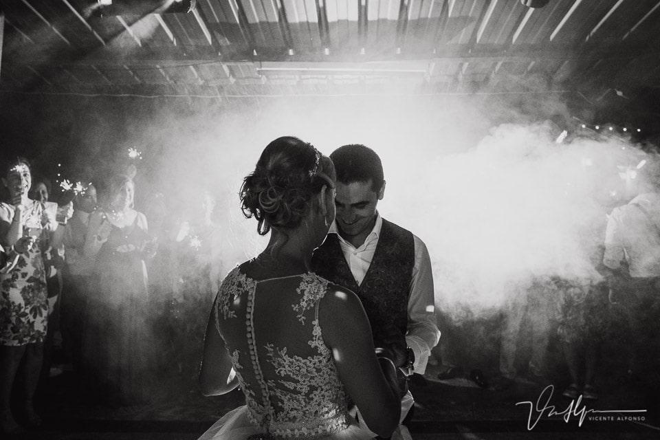 Baile de los novios en Los Aperos en Navalmoral de la Mata