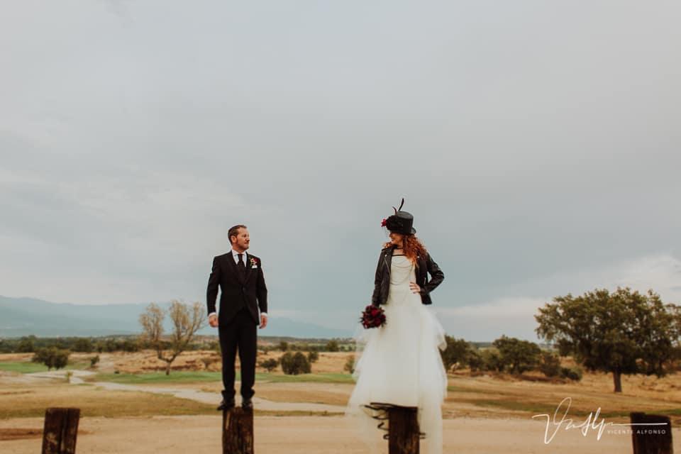 Reportaje de fotos super original de boda