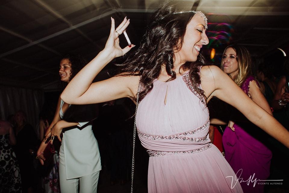 La fiestas del baile en el hote valles de gredos