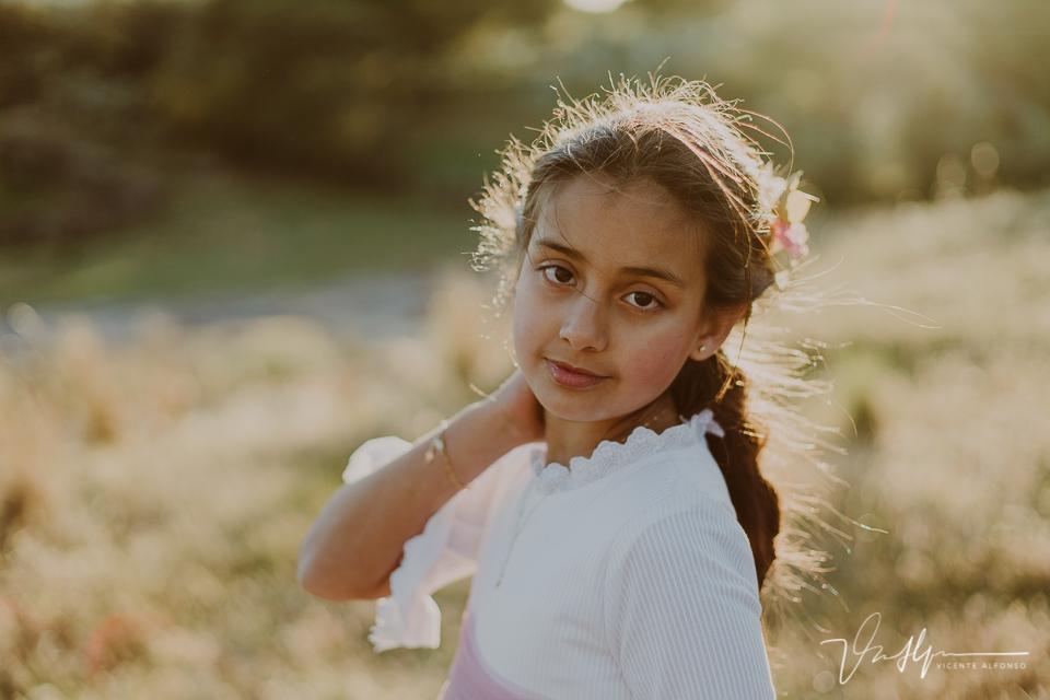 Retrato niña de comunión