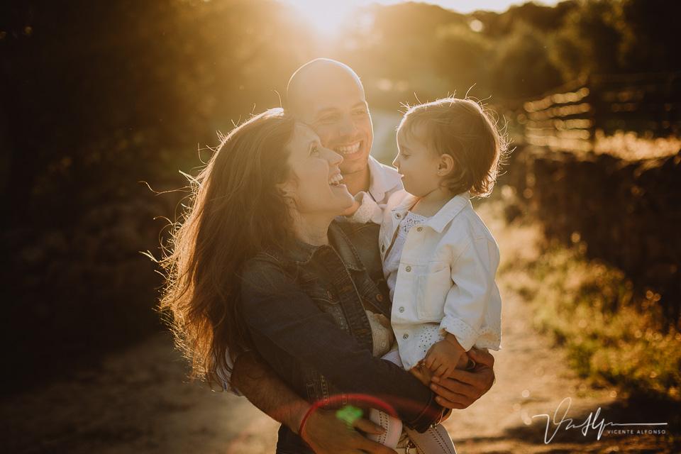 Fotografía de familia, reportajes diferentes en exteriores