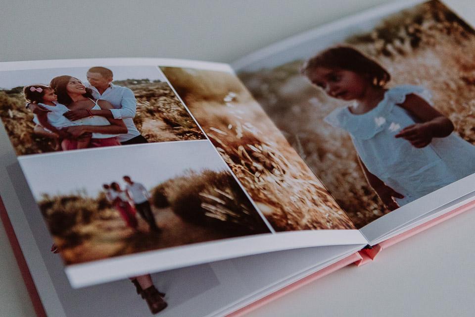 Álbumes para reportajes infantiles o de embarazo por Vicente Alfonso