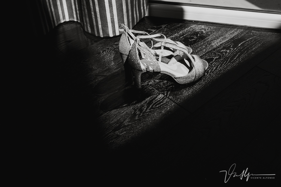 Los zapatos de la novia