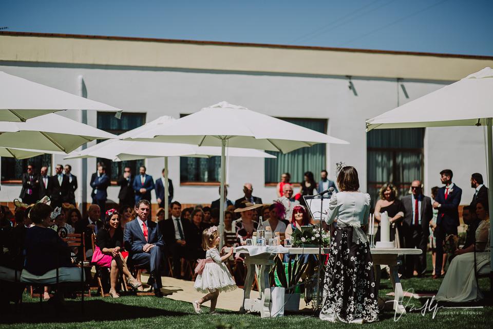 Ceremonia en los Salones Antonio