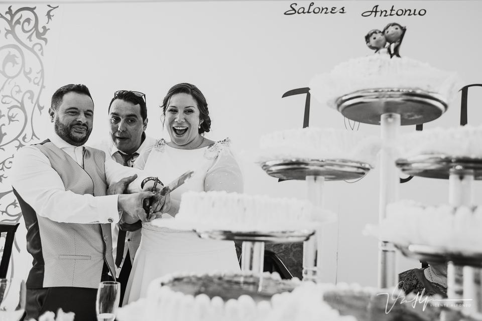 momento gracioso tarta