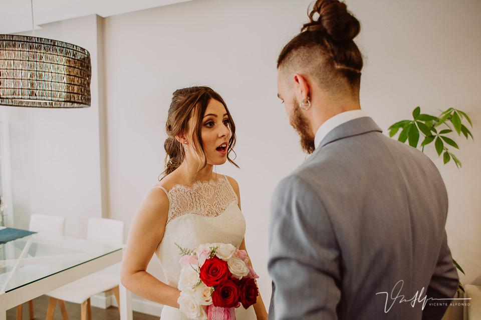 Reportajes de boda en Villaviciosa de Odón en Madrid casa de la novia