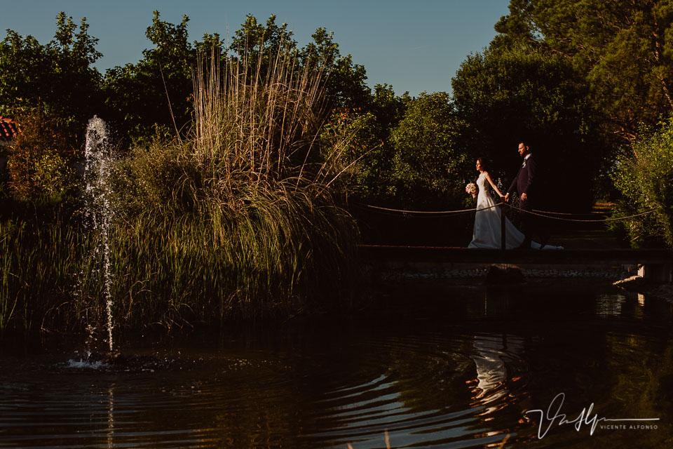 Reportajes de boda y pareja en Madrid en la Finca de la Alcudia
