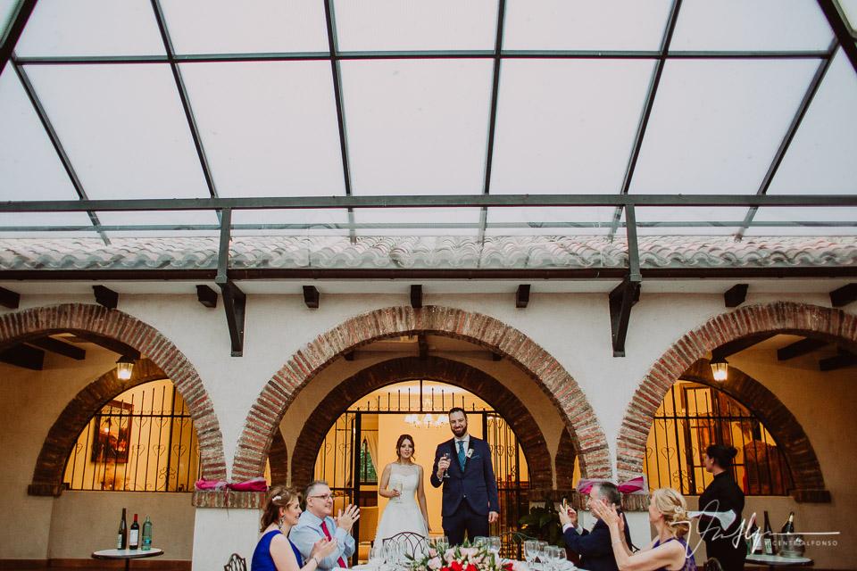 Banquete de boda en Madrid en la Finca la Alcudia
