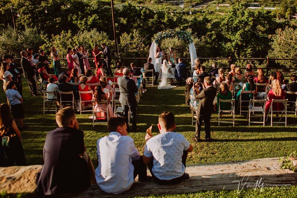 Ceremonia Iker y Sara en el Hotel Rural Villa Xarahiz en Jaraiz de la Vera