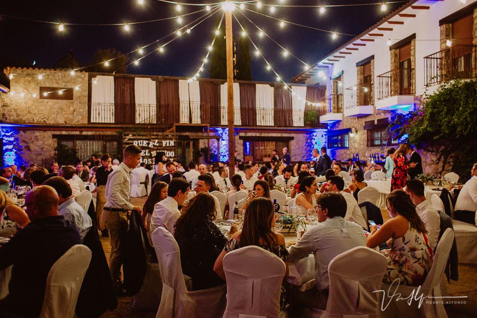 Banquete Iker y Sara en el Hotel Rural Villa Xarahiz en Jaraiz de la Vera