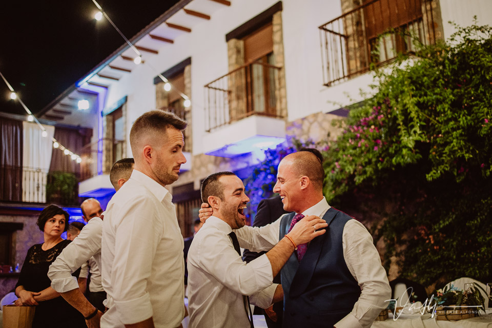 Baile y fiesta Iker y Sara en el Hotel Rural Villa Xarahiz en Jaraiz de la Vera