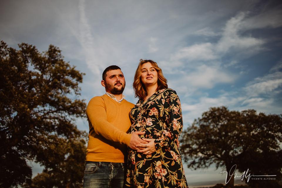 Fotografía de embarazo en Bohonal de IBor