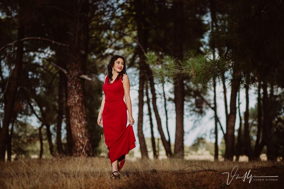 book chica en el bosque