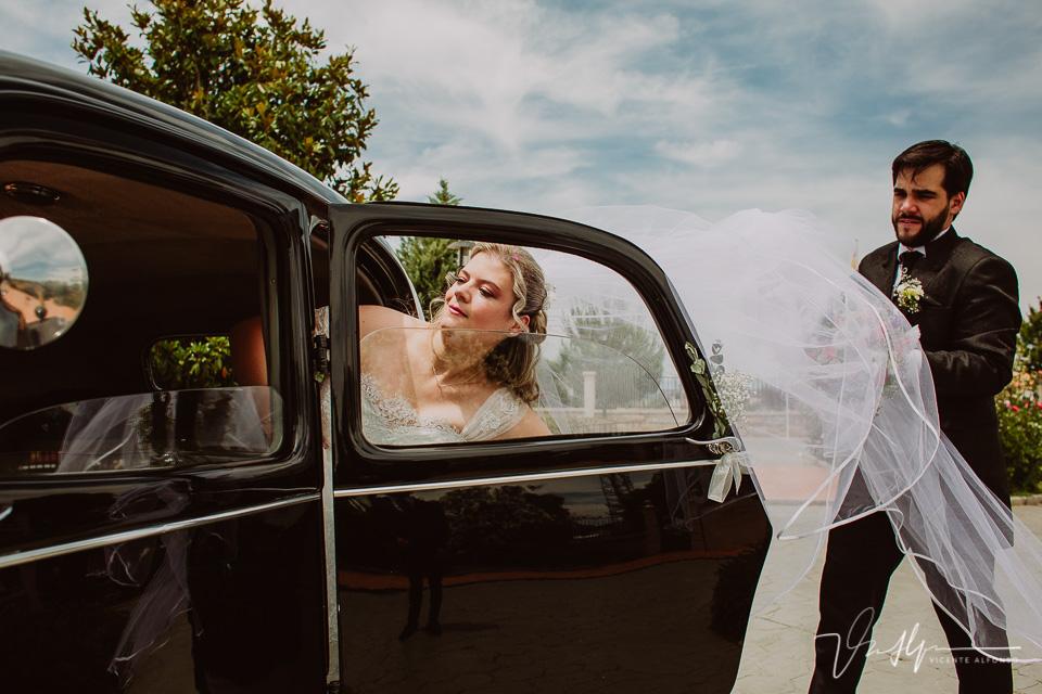 Reportajes de boda en los Ibores