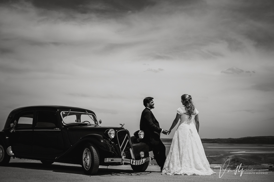 Reportajes de boda en los Mármoles, Extremadura.