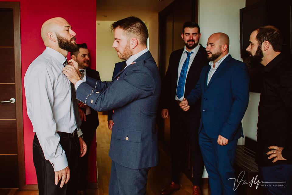 Reportajes de boda 2020 - detalles casa novio 05