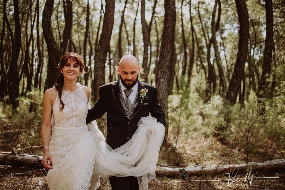 Fotografía de boda sin posados, fotos originales. Momento reportaje 07