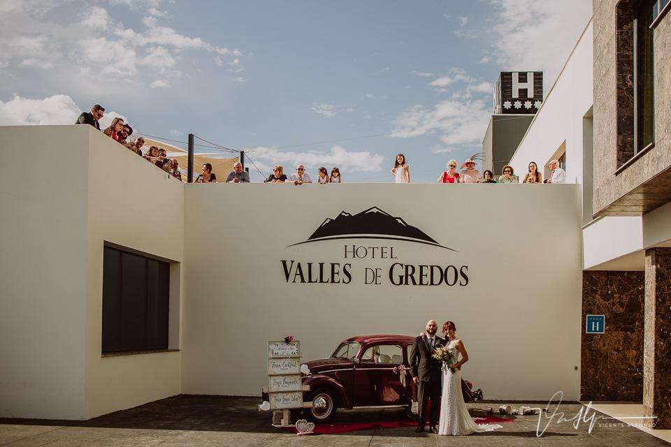 Reportajes de boda, llegada al cóctel 01