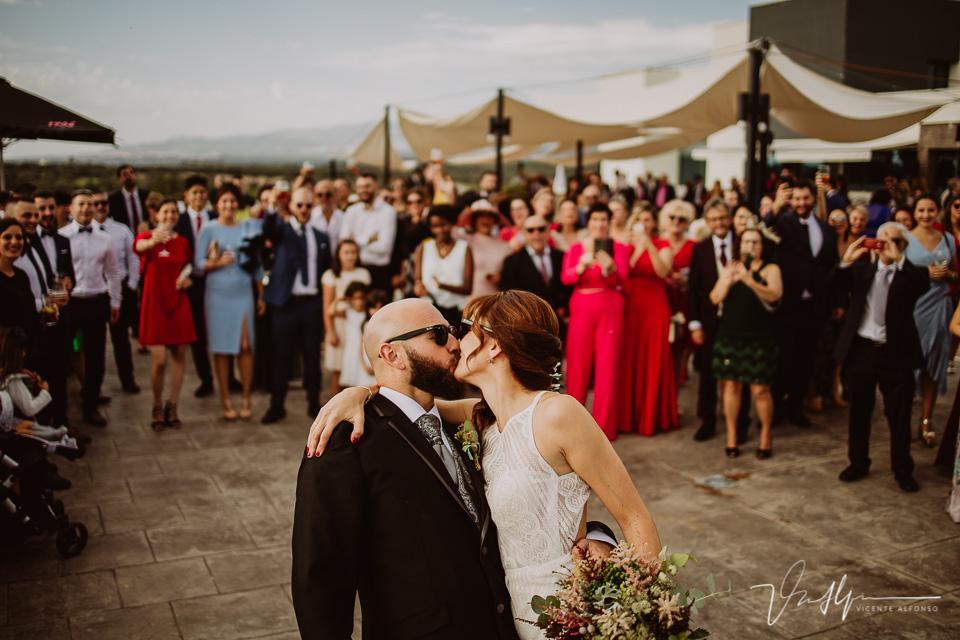 Reportajes de boda, llegada al cóctel 07