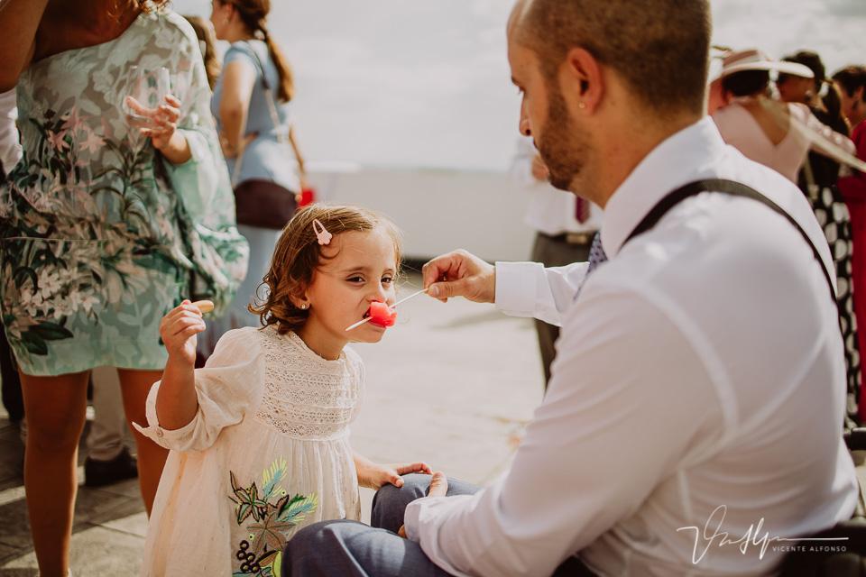 Reportajes de boda, llegada al cóctel 13