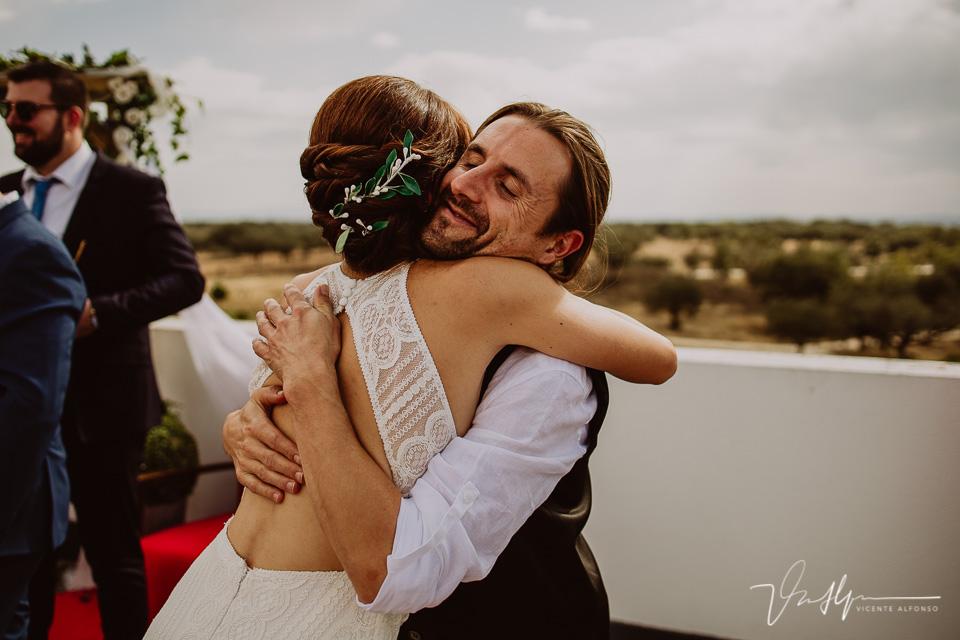 Reportajes de boda, llegada al cóctel 18