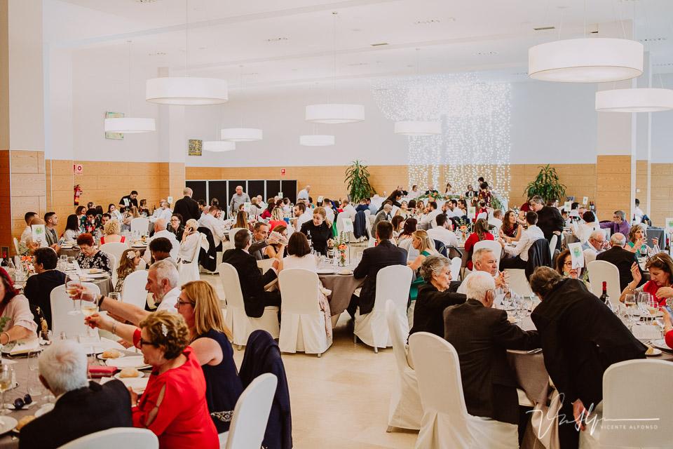 Reportaje de boda banquete en Hotel Golf 04