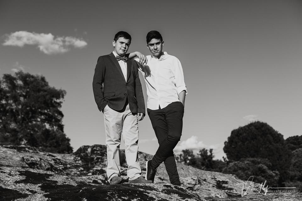 Fotografía de familia en Extremadura