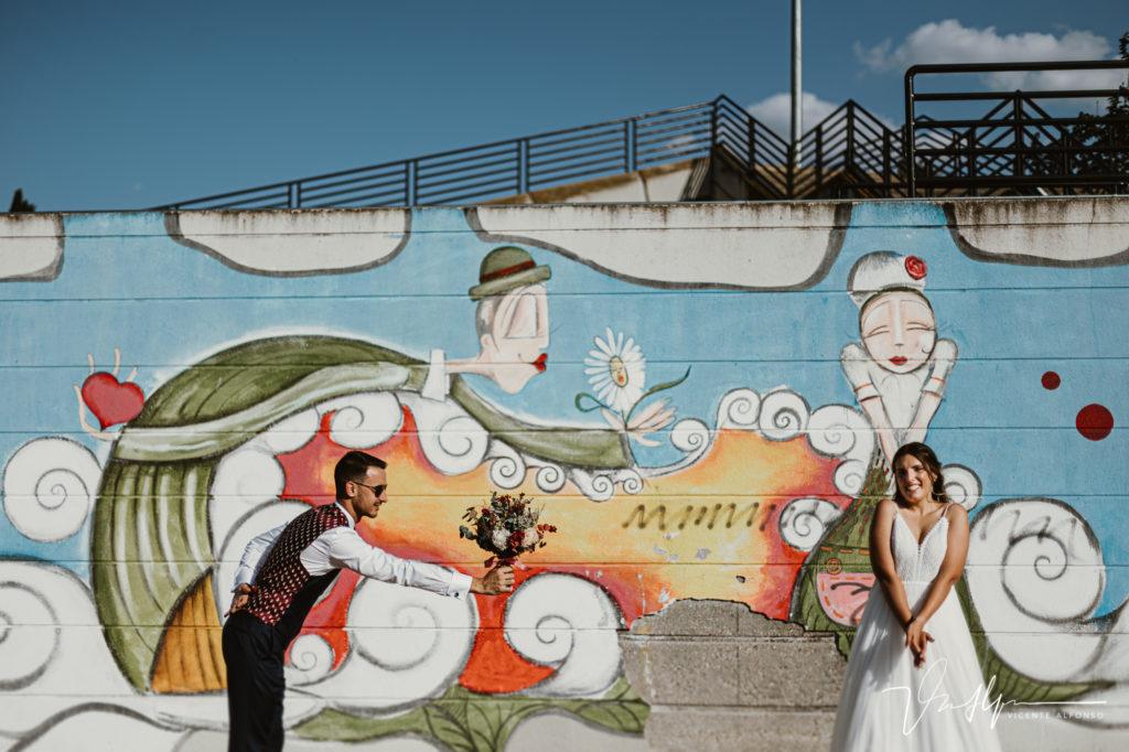 Fotografía original de bodas en Madrid